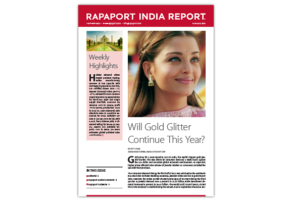 Rapaport India Report Newsletter